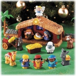 Little People Nativity