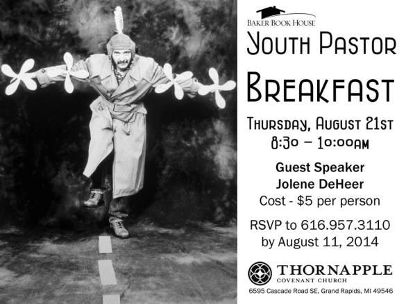 Your Pastor Breakfast